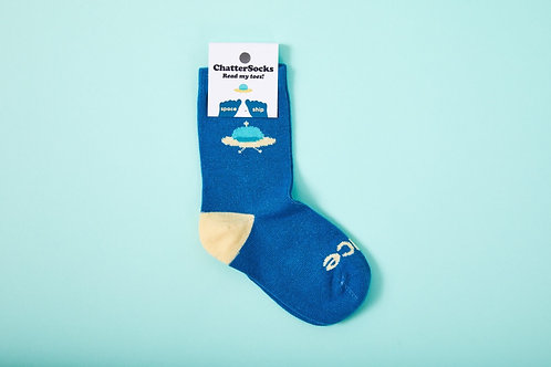 Space-Ship Socks