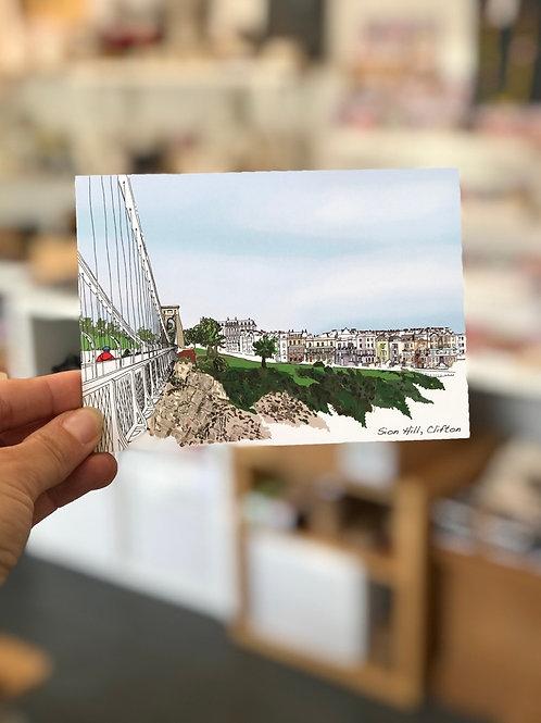 Sion Hill Postcard