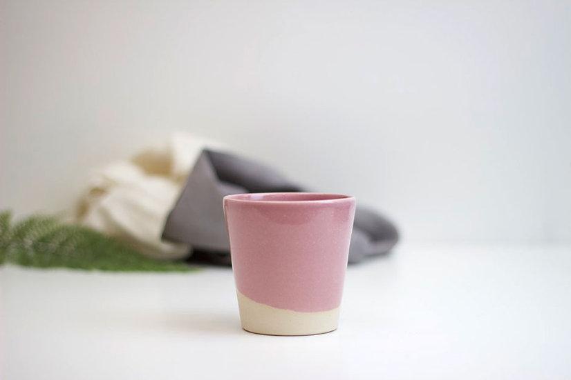 Handthrown Beaker - Pink
