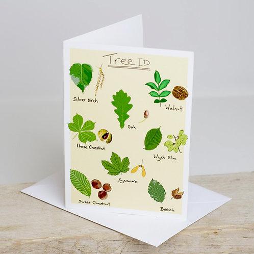 Tree ID Greetings Card