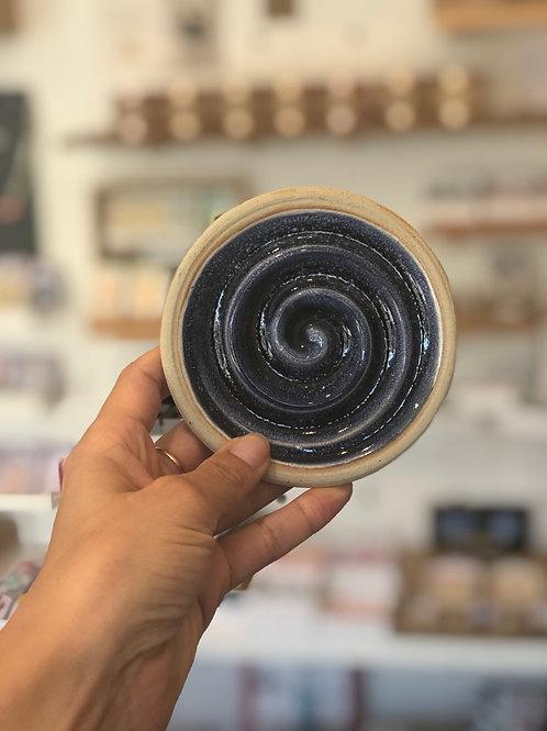 Ceramic Soap Dish - Midnight