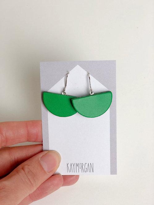 Small Semi Circle - Green