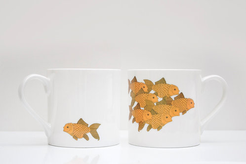 Goldfish Bone China Mug