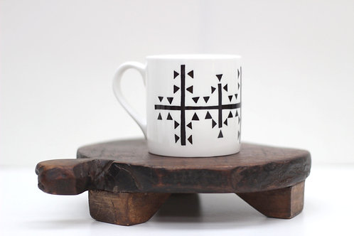 Mark Symbol Bone China Mug