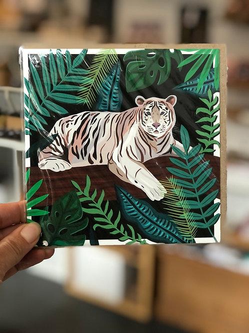 Tiger in Jungle Card
