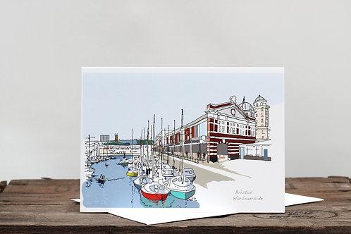Bristol Harbourside Card