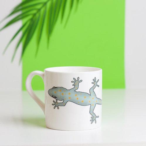 Gecko Bone China Mug