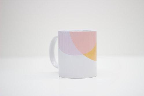 Orange | Pink Ceramic Mug