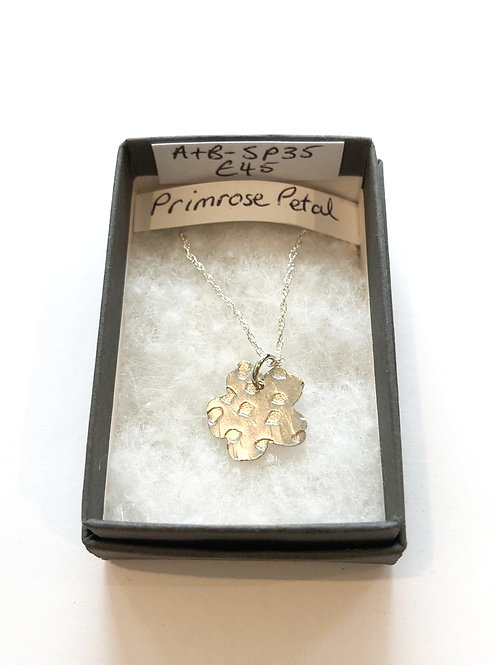 Silver Primrose Petal