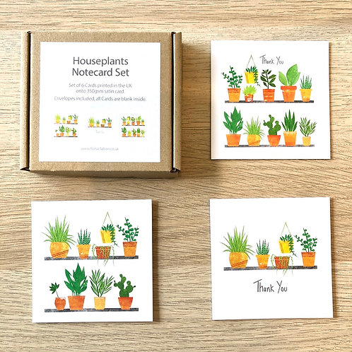 Thank You Card Pack - Plant Pots