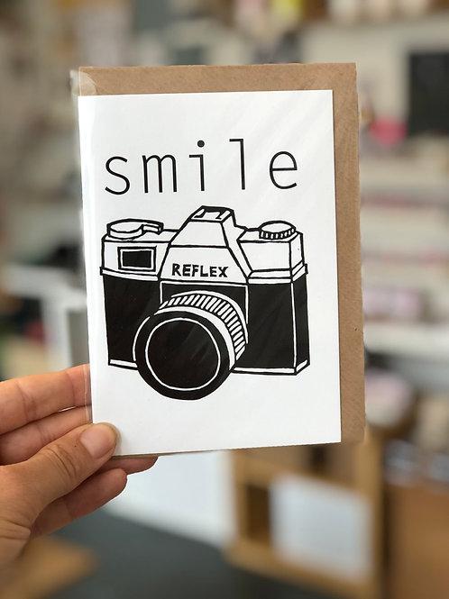 Smile Camera Card