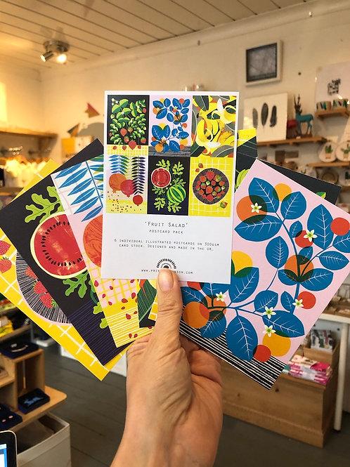 Postcard Pack - Fruit