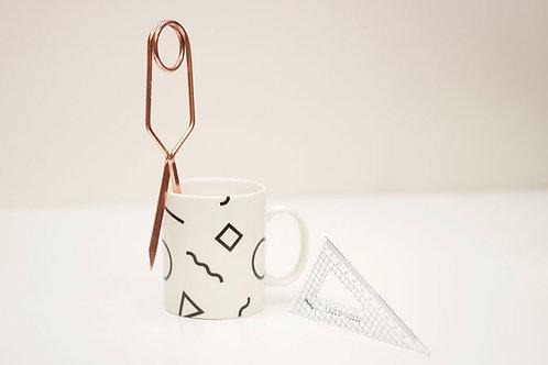 Shapes Porcelain Mug