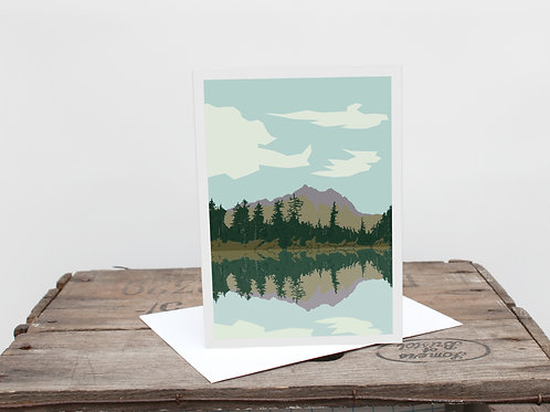 Weekend Explorer - Lake Greetings Card