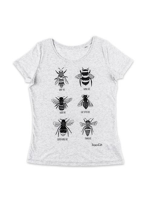 Womans Bee tee organic T-shirt