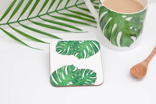 Cheese Leaf Coaster