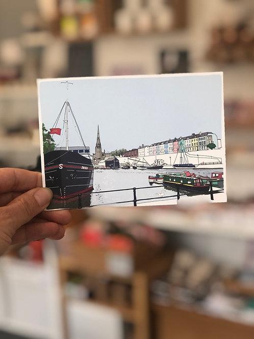 The Thekla Postcard