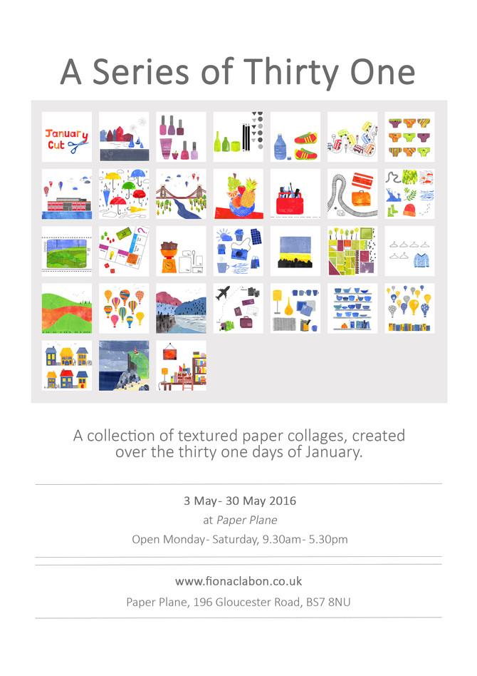 New Exhibition by Fiona Clabon