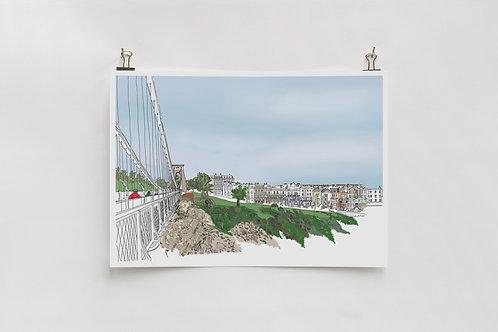 Sion Hill Digital A4 Print