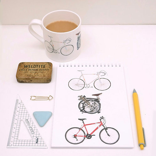 Three Bikes Notebook