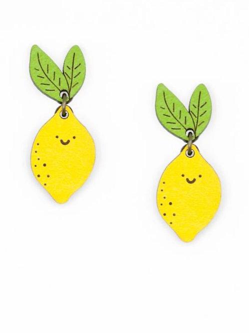 Mrs Lemon Earrings Stud