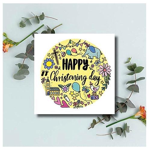 Happy Christening Day Card