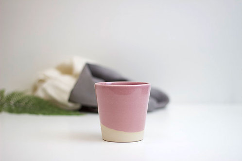 Handthrown Beaker - Pink