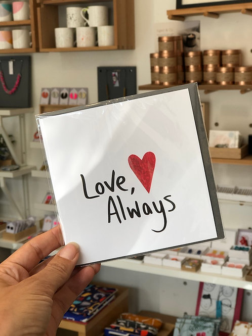 Love Always Card