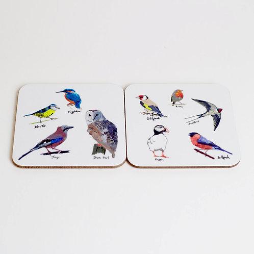 Garden Bird Coasters