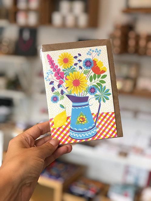 Summer Blooms Card