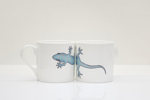 Gecko Bone China Mug