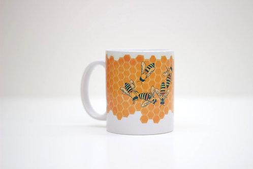 Bees Ceramic Mug