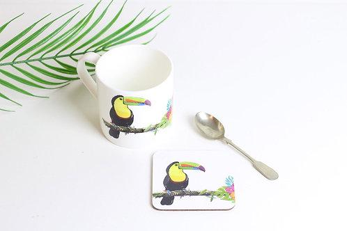 Toucan Coaster