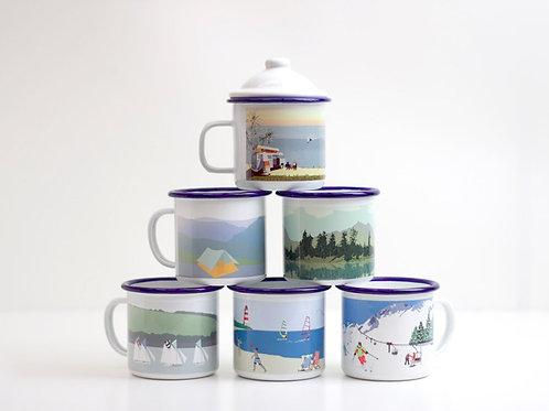 Get the Set: Weekend Explorer Enamel Mugs