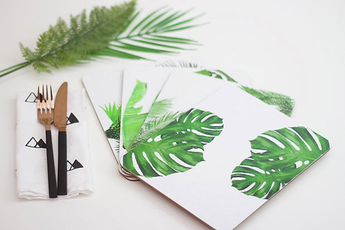 Set of Tropical Placemat