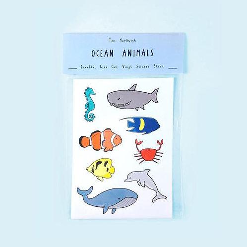 Ocean Animals Sticker Packs