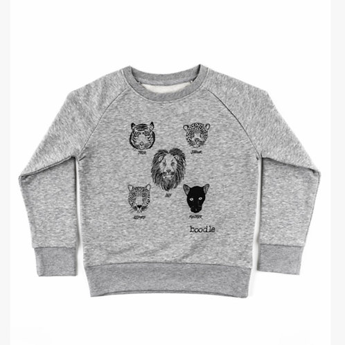 Five cats organic kids sweater
