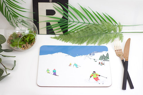 Weekend Explorer - Ski Placemat