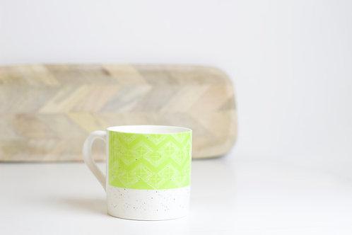 Leaf Bone China Mug