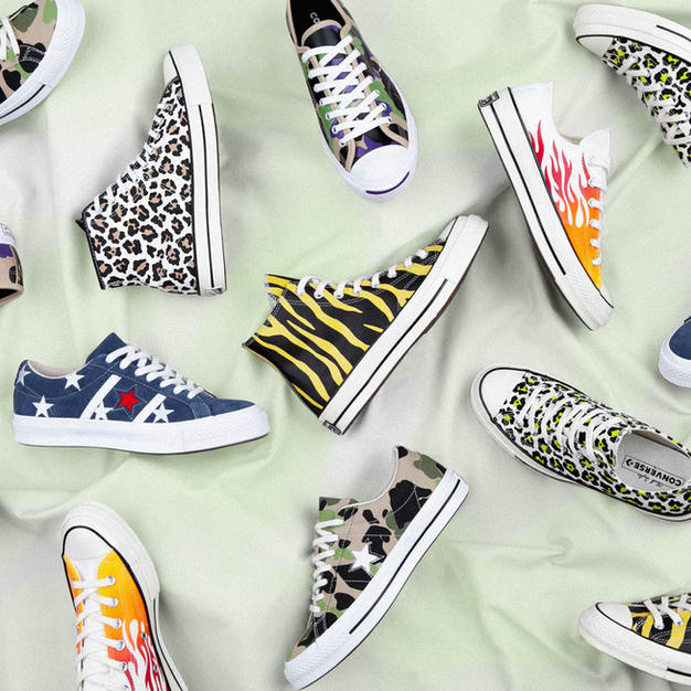 The Story Of The Converse Archive Print