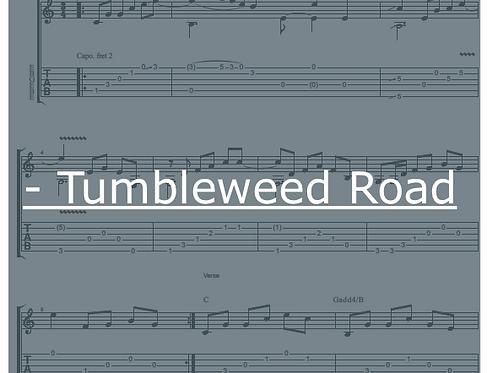 Tumbleweed Road Tablature