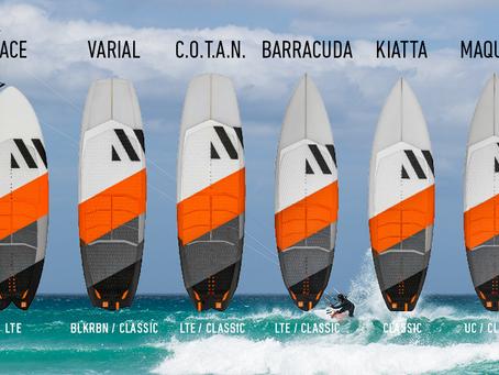 (KITE)SURF DESKE RRD ZA SEZONO 2021