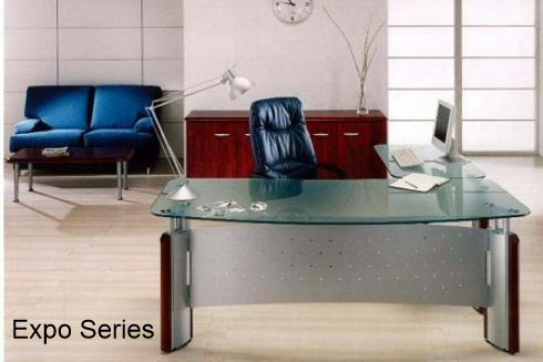 Expo Series Glass Desks