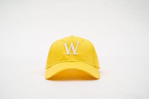 "Yellow ""William Wilson W"" Cap"