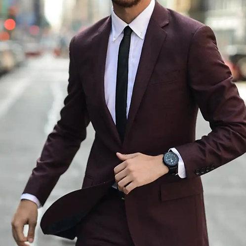Eggplant Designer Suit