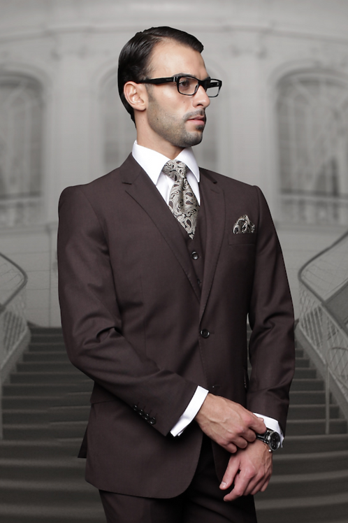 Brown Designer Suit