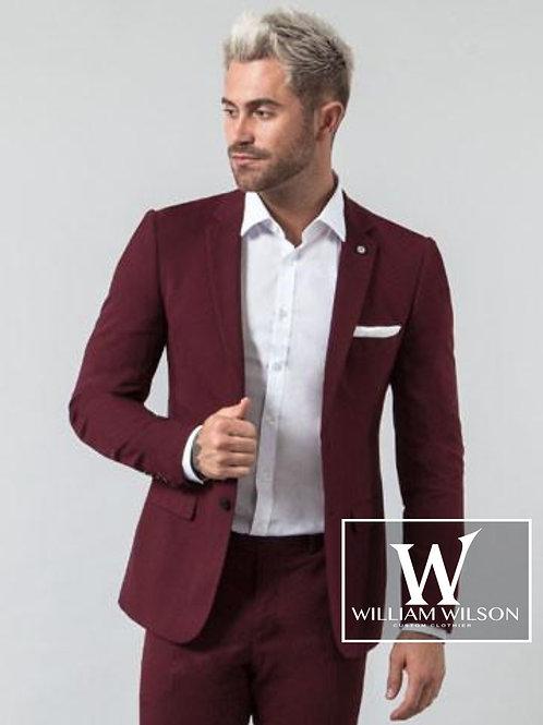 Burgundy Designer Suit