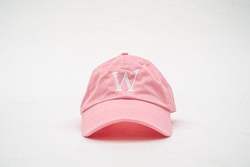 """Pink """"William Wilson W"""" Cap"""