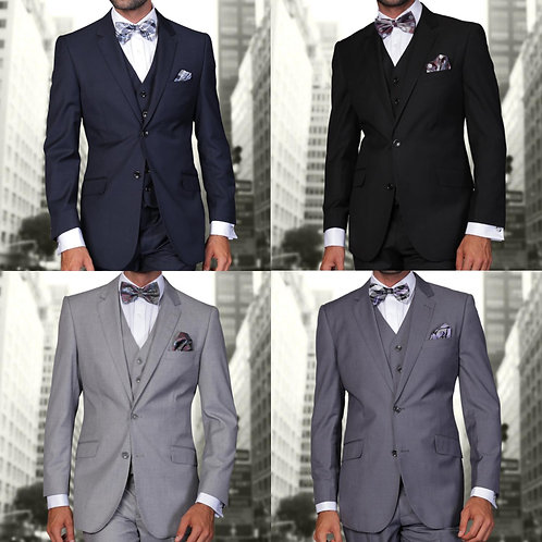 The Core Package (Navy, Charcoal, Grey and Black)