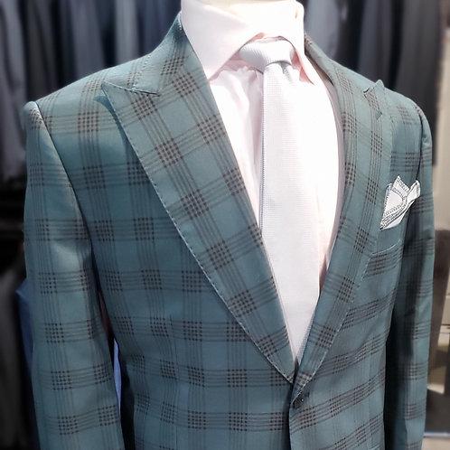 Jade Glenplaid Suit